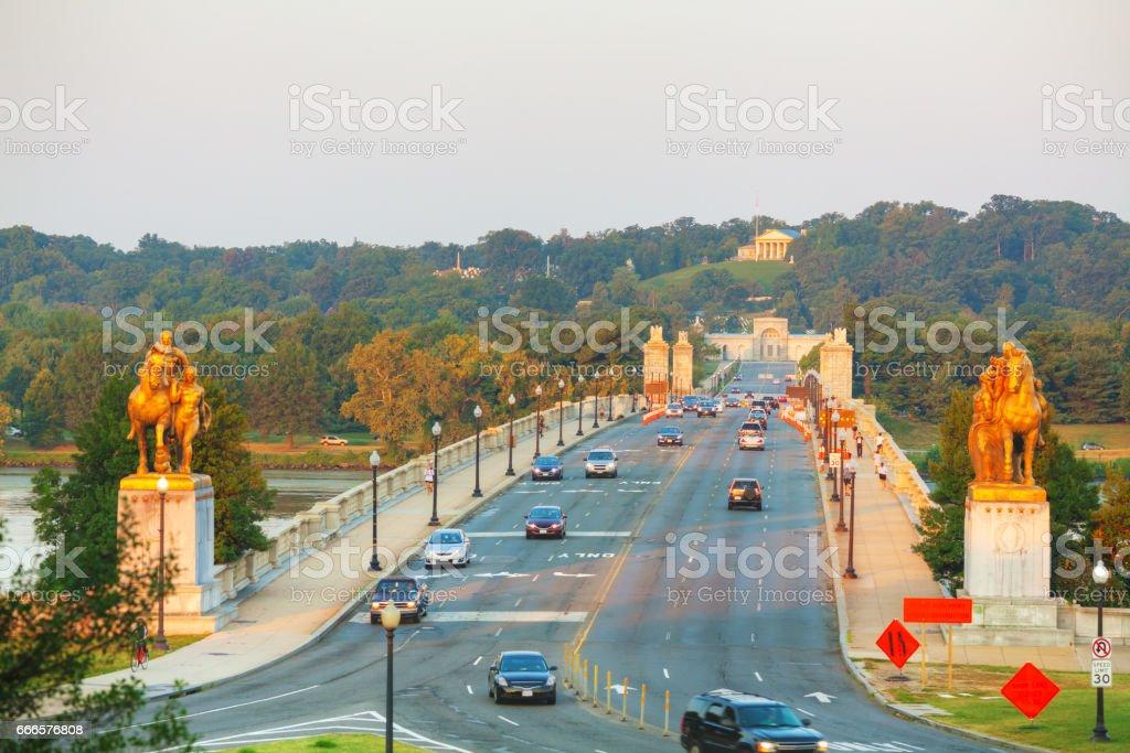 Washington, DC cityscape stock photo