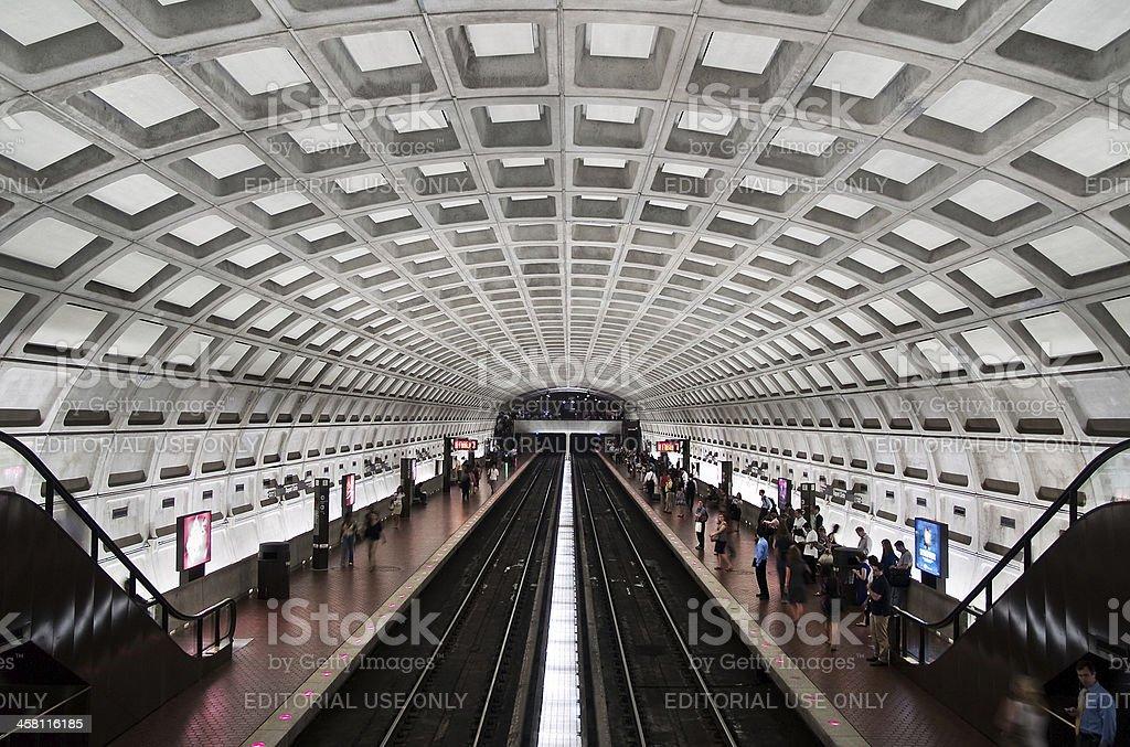 Washington DC Dupont Circle metro station stock photo