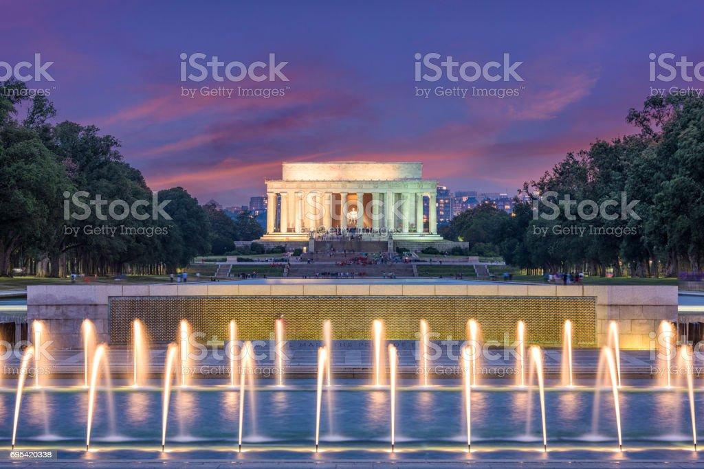 Washington DC Memorials stock photo