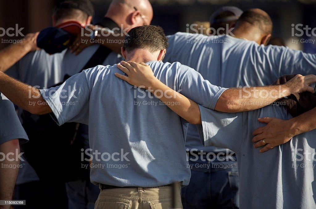 Washington DC men in group stock photo