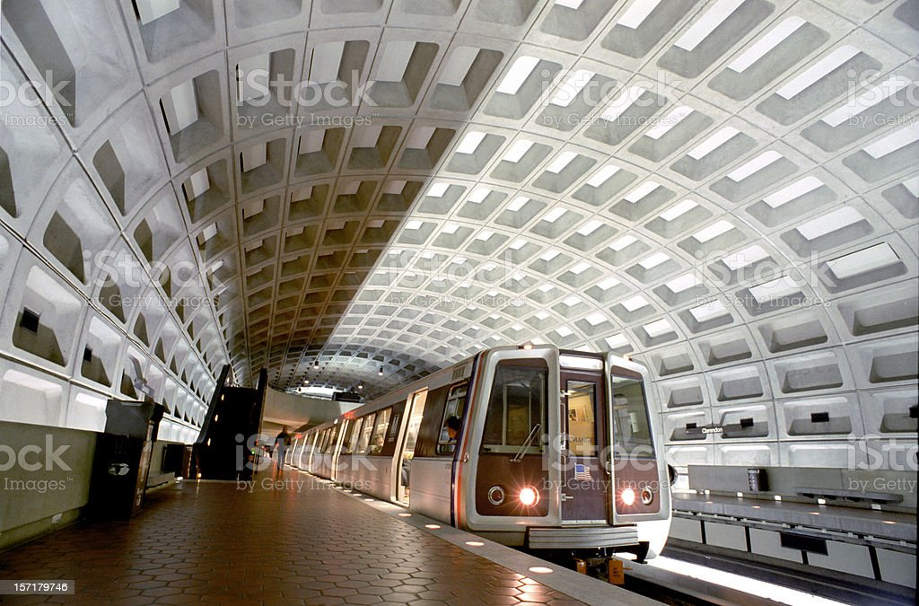 Washington, DC Metro stock photo