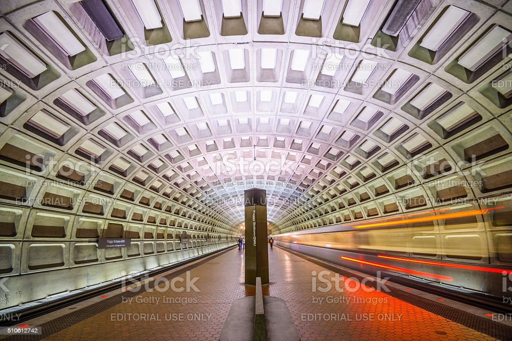 Washington DC Metro stock photo