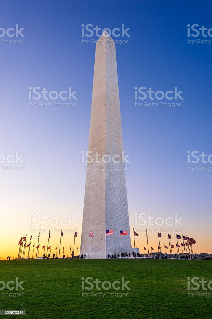 Washington DC Monument stock photo