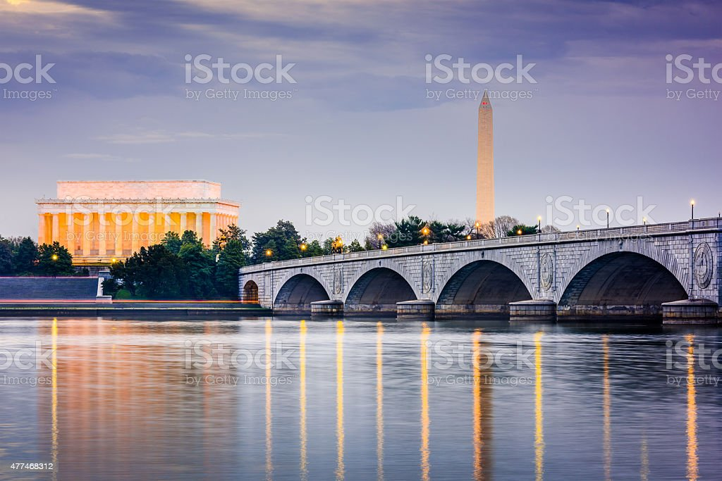 Washington DC Skyline stock photo