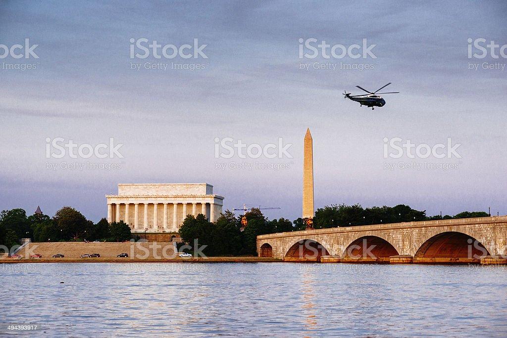 Washington DC Skyline stock photo