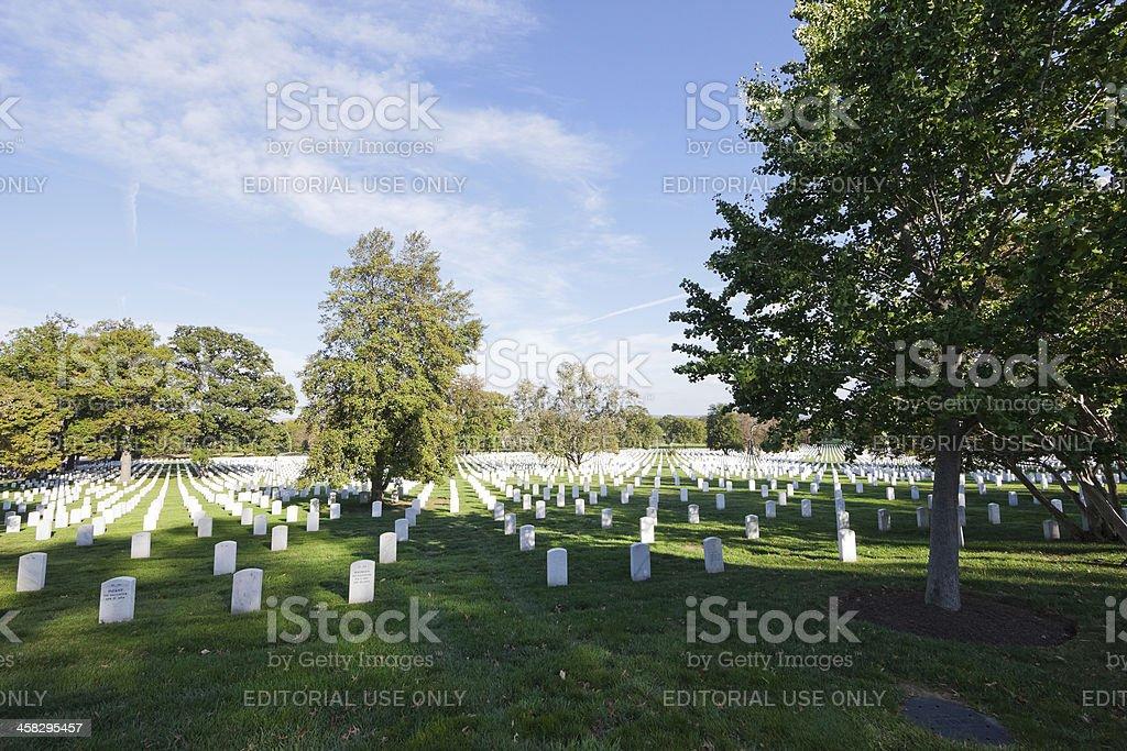 Washington, DC, USA -  Arlington National Cemetery royalty-free stock photo