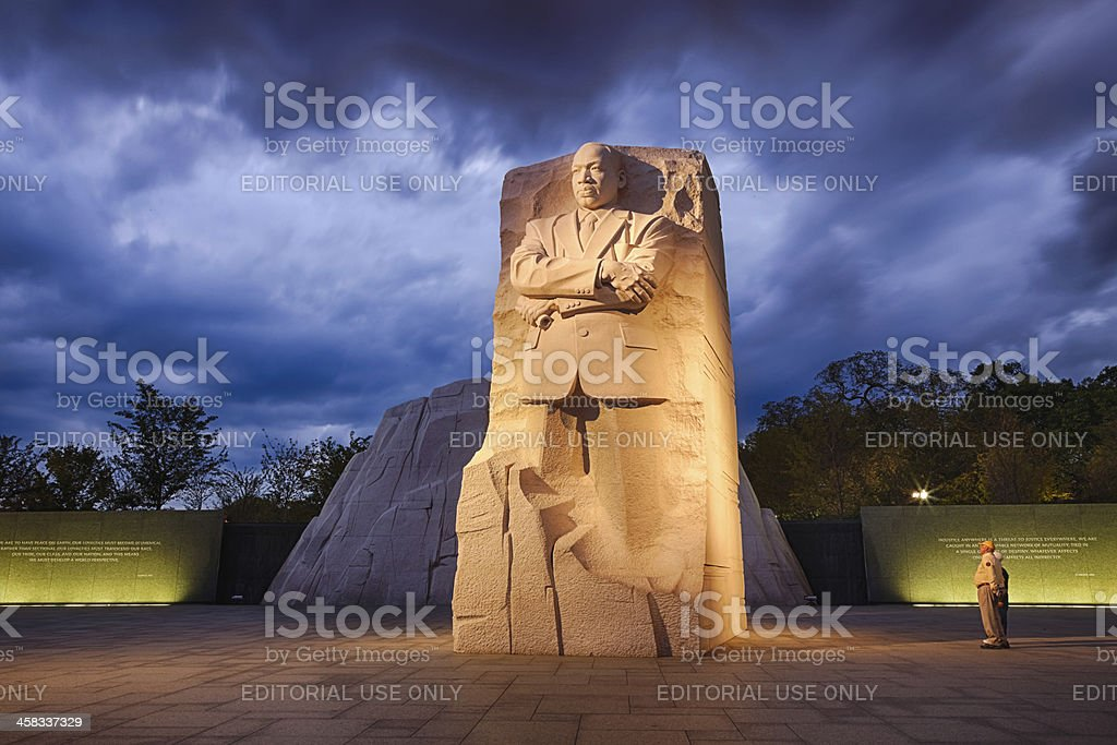 Washington, DC, USA - Memorial to Dr. Martin Luther King stock photo