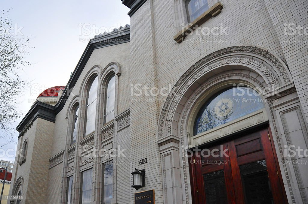 Washington, D.C., USA: Sixth and I Historic Synagogue stock photo