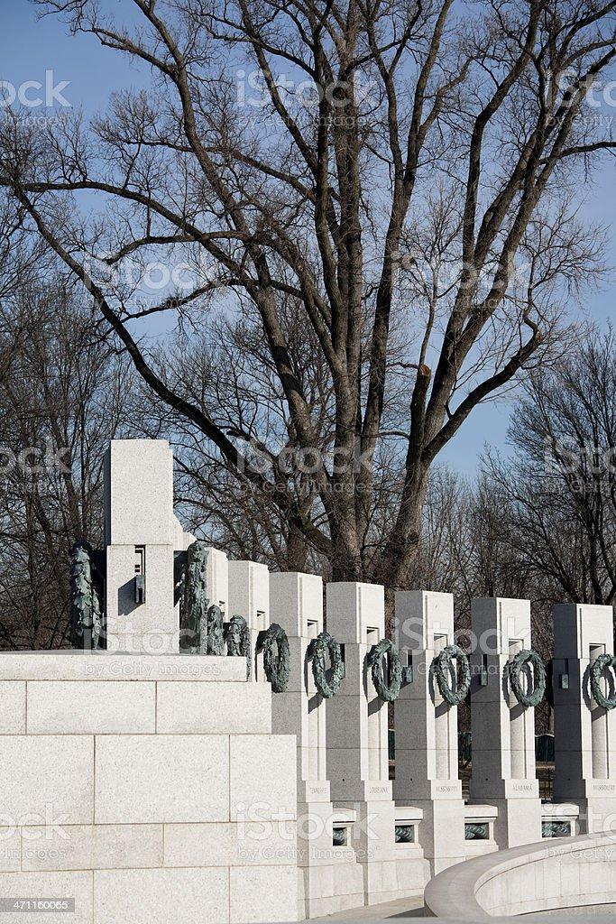 Washington DC War Memorial stock photo