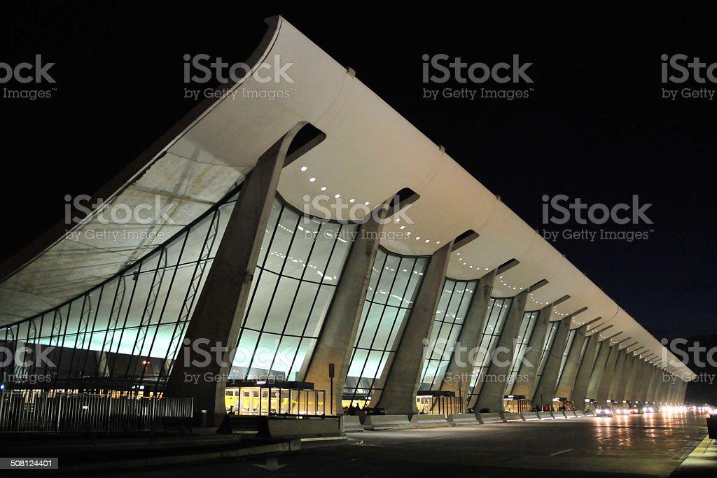 Washington Dulles International Airport stock photo