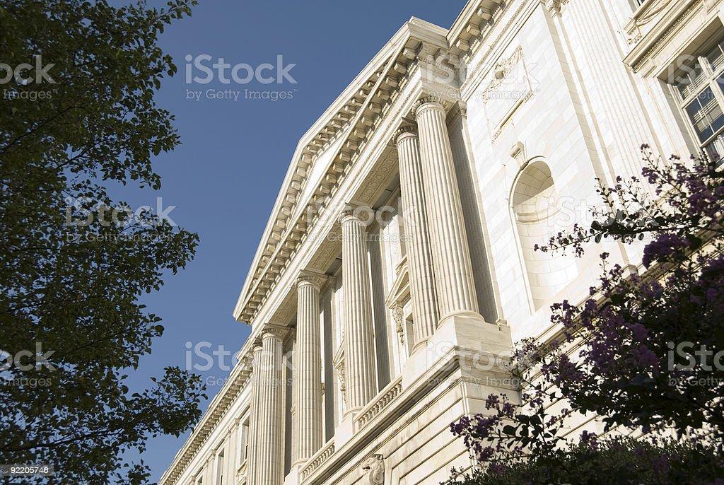 Washington Facade royalty-free stock photo