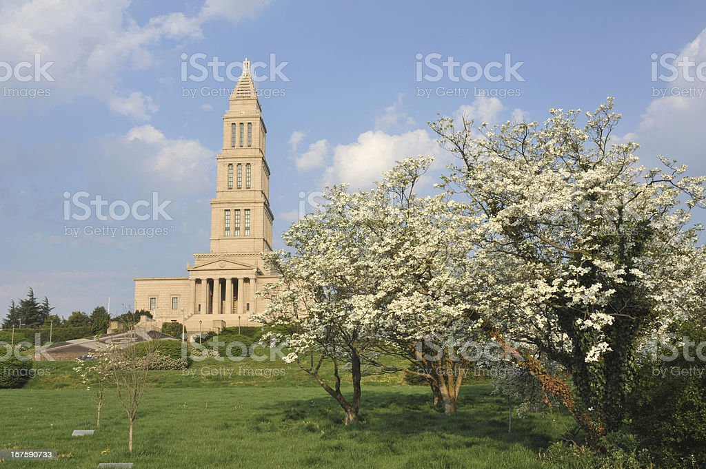 Washington Masonic National Memorial stock photo