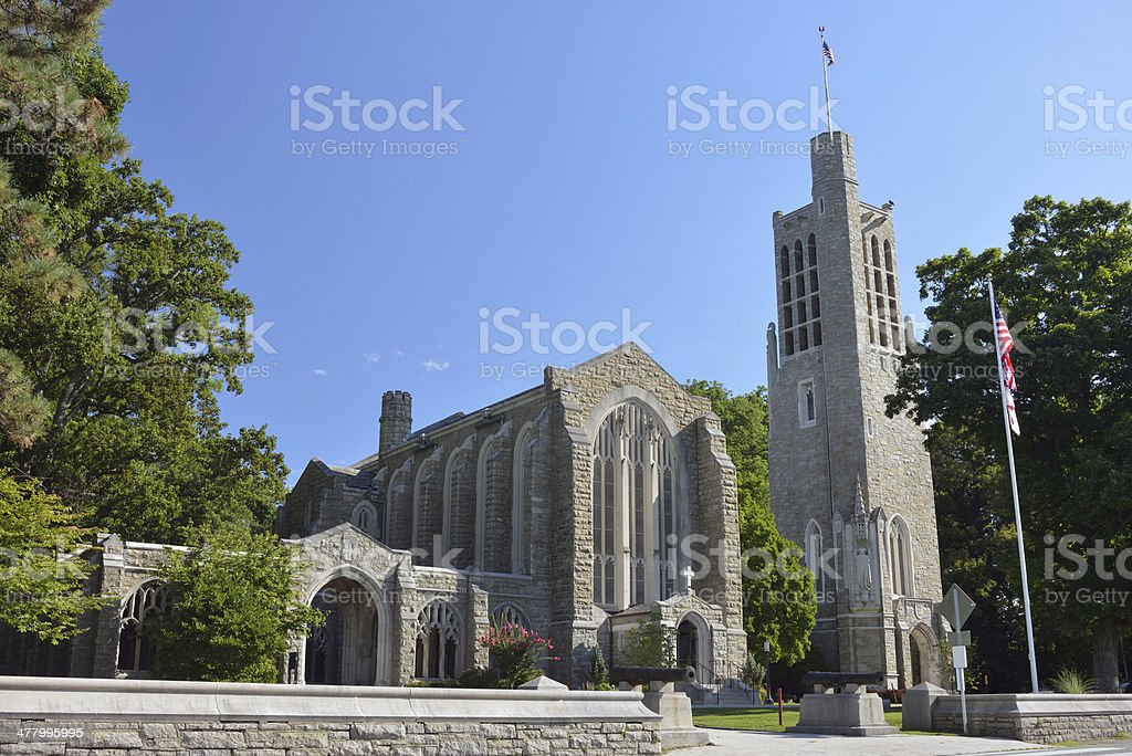 Washington Memorial Chapel stock photo