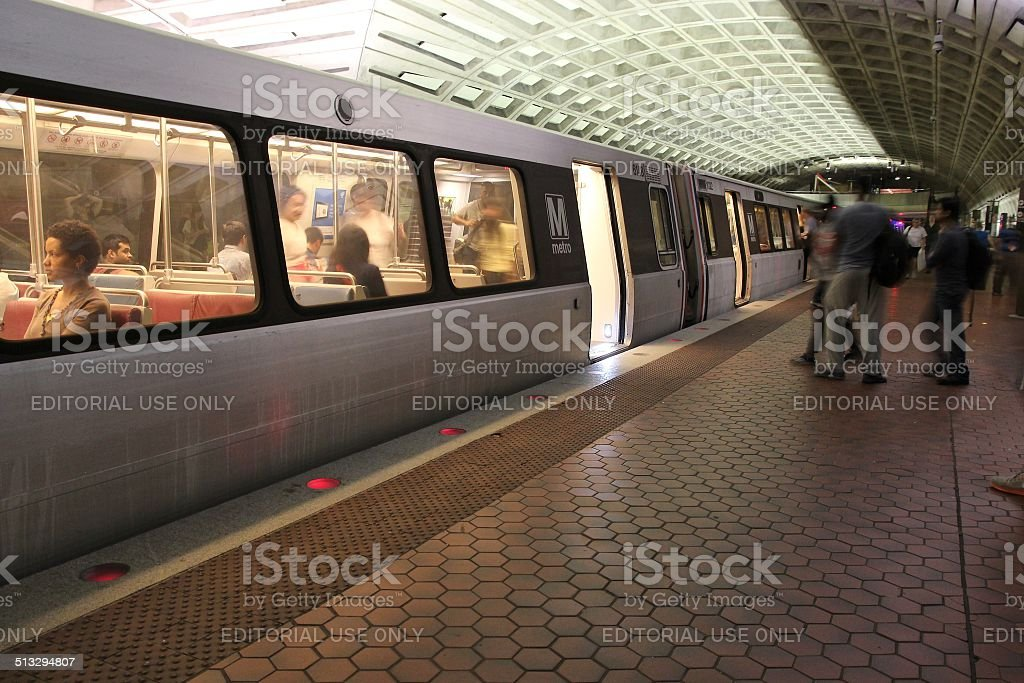 Washington Metro stock photo