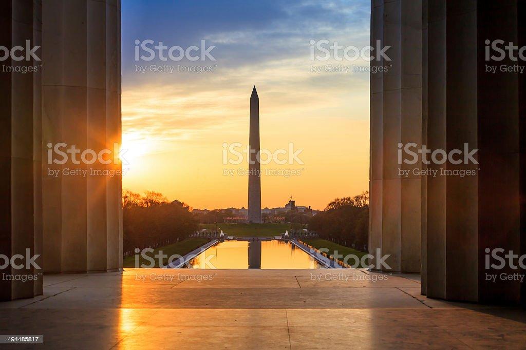 Washington Monument royalty-free stock photo