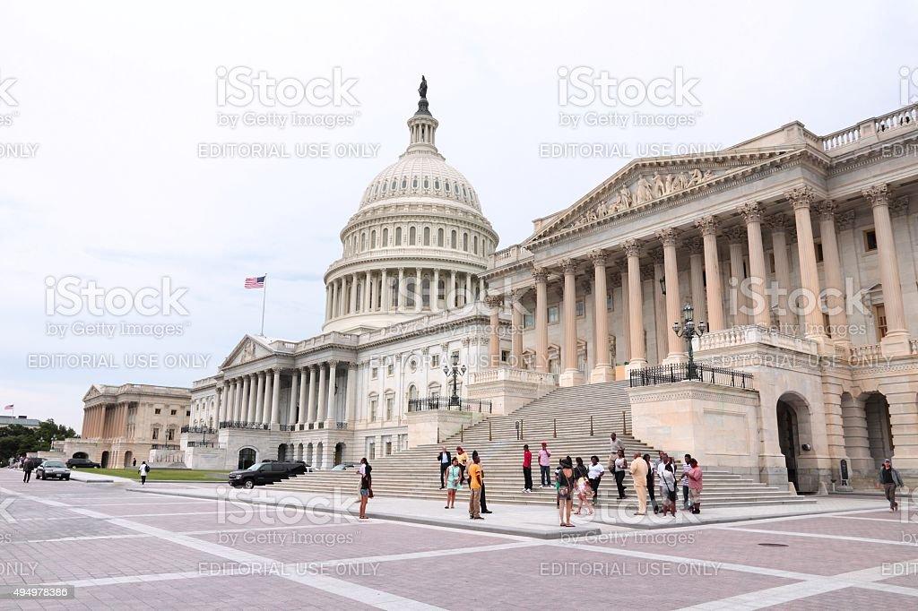 Washington National Capitol stock photo
