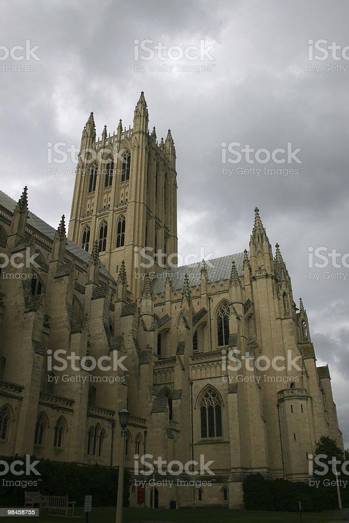 Washington national cathedral royalty-free stock photo
