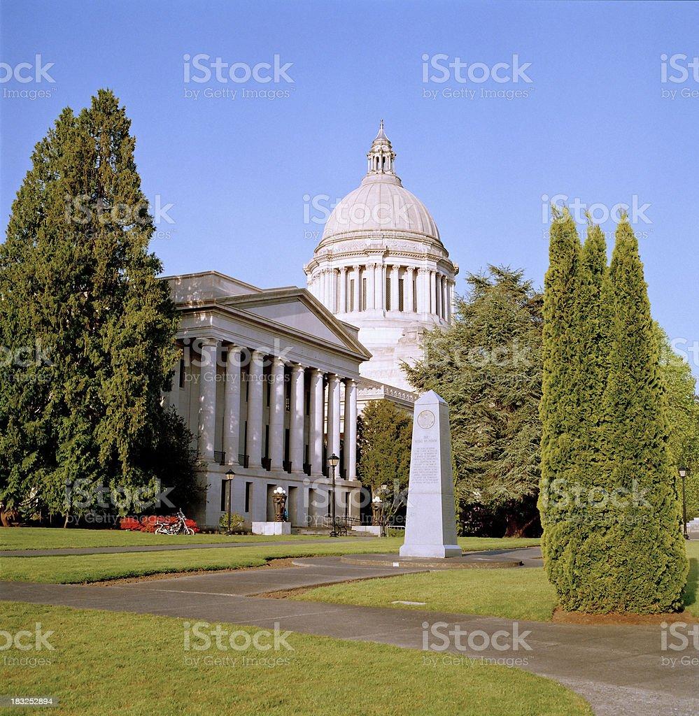 Washington State Capital royalty-free stock photo