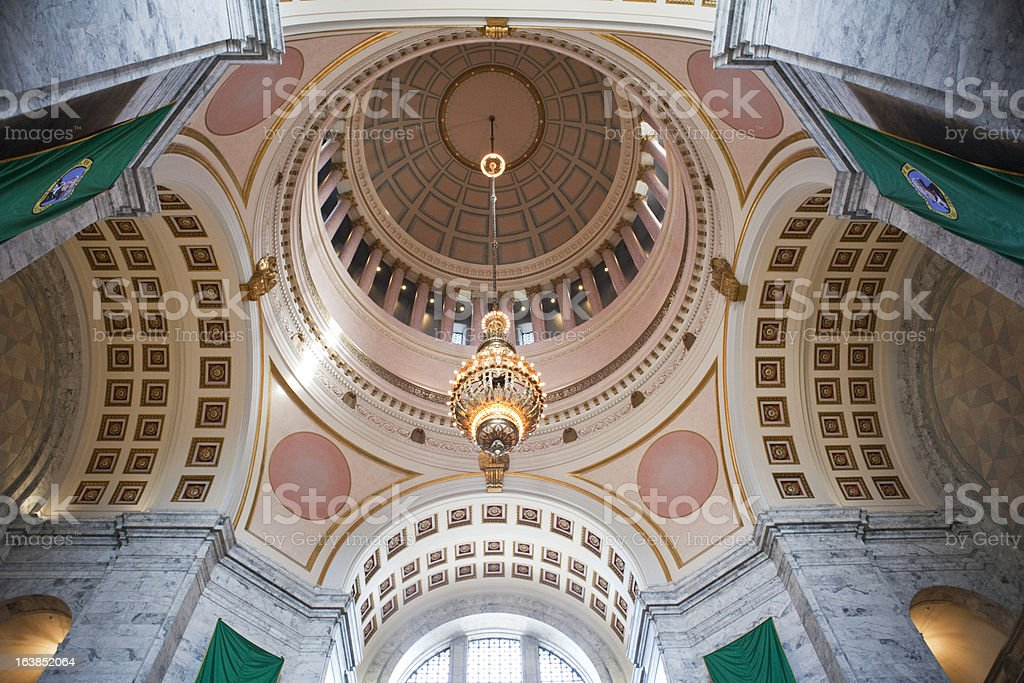 Washington State Capitol Building royalty-free stock photo