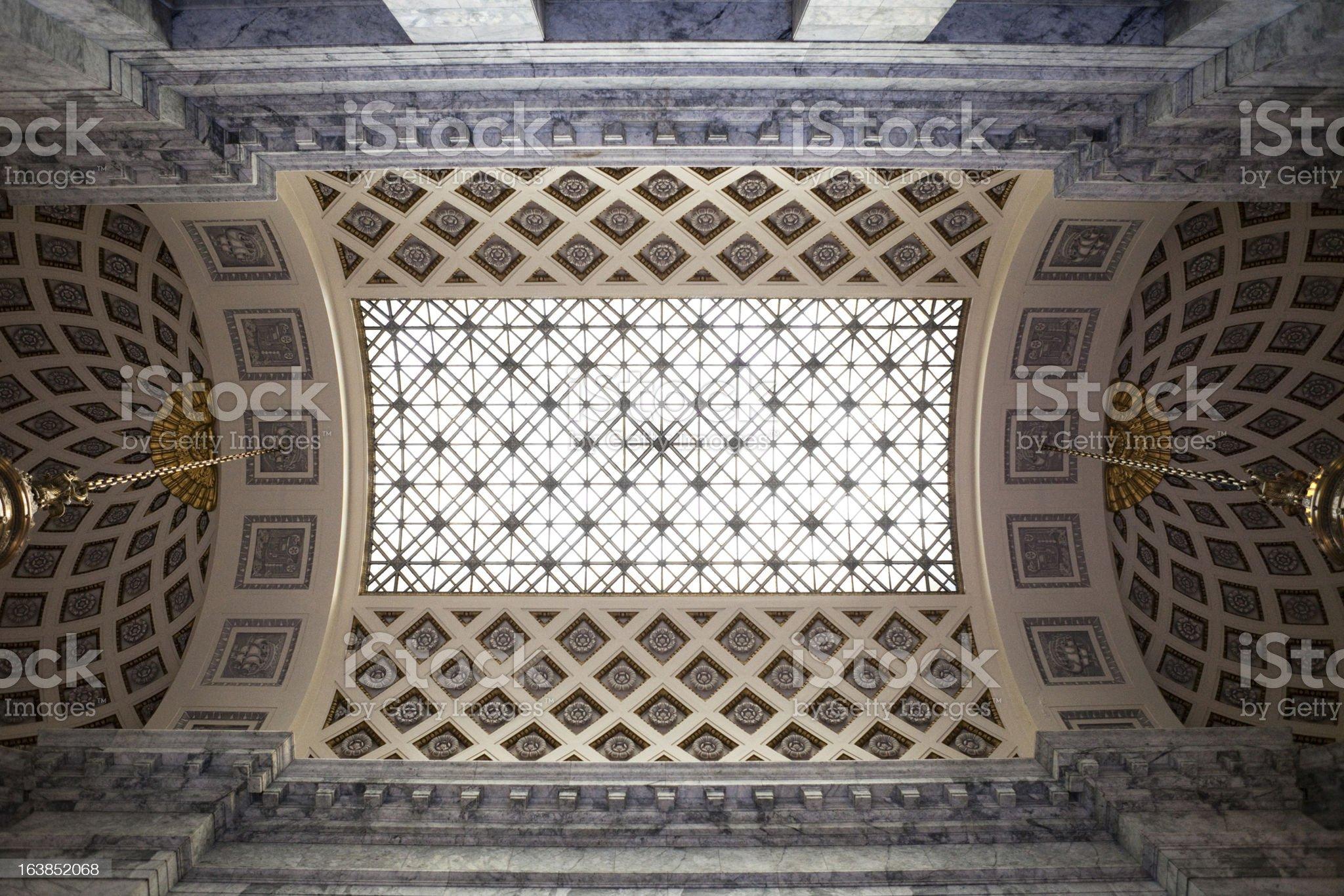 Washington State Capitol Building royalty-free stock photo