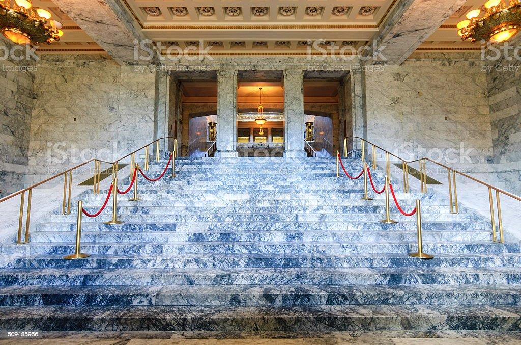 Washington State Capitol Building stock photo