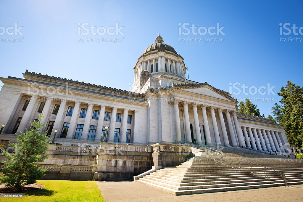 Washington State Capitol Building, the Government Center Building stock photo