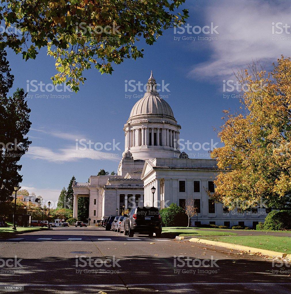 Washington State Capitol, Fall 2007 royalty-free stock photo