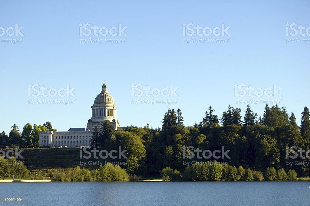 Washington State Capitol royalty-free stock photo