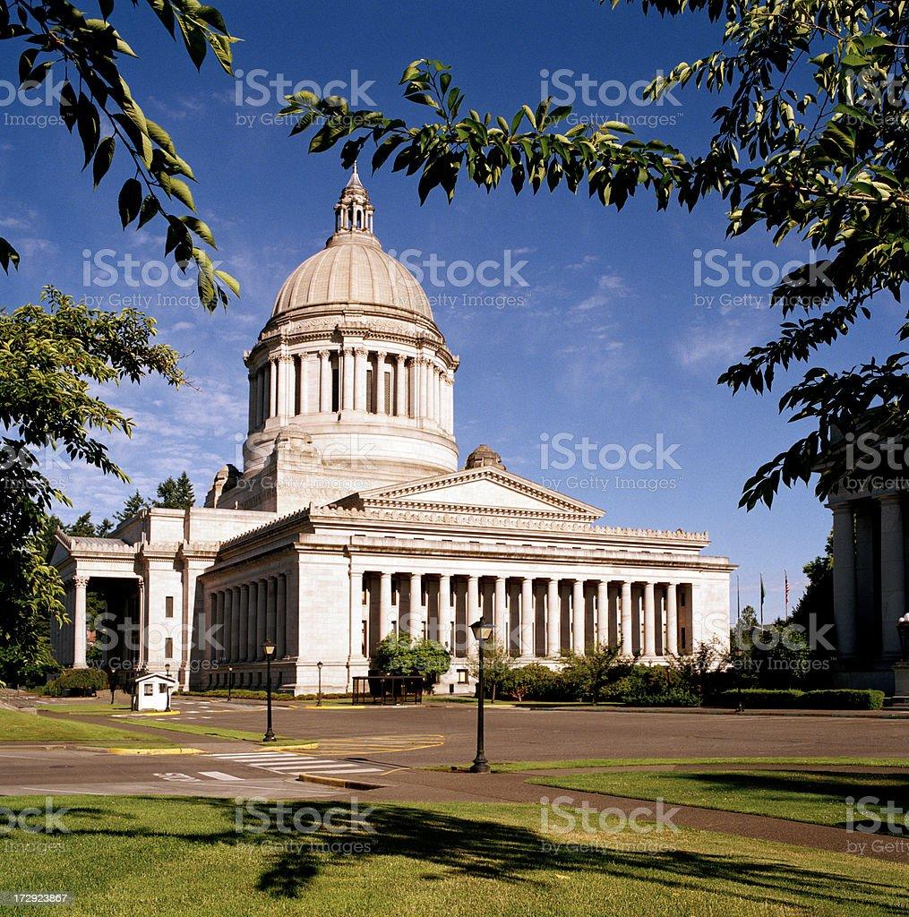 Washington State Capitol, Summer 2008 royalty-free stock photo