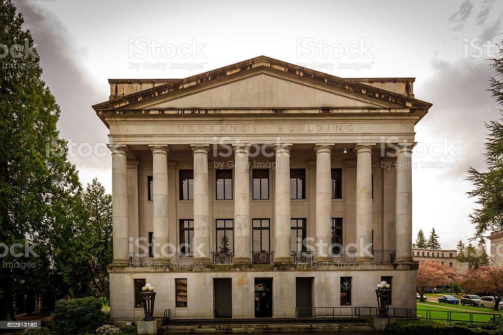 Washington State Insurance Building stock photo