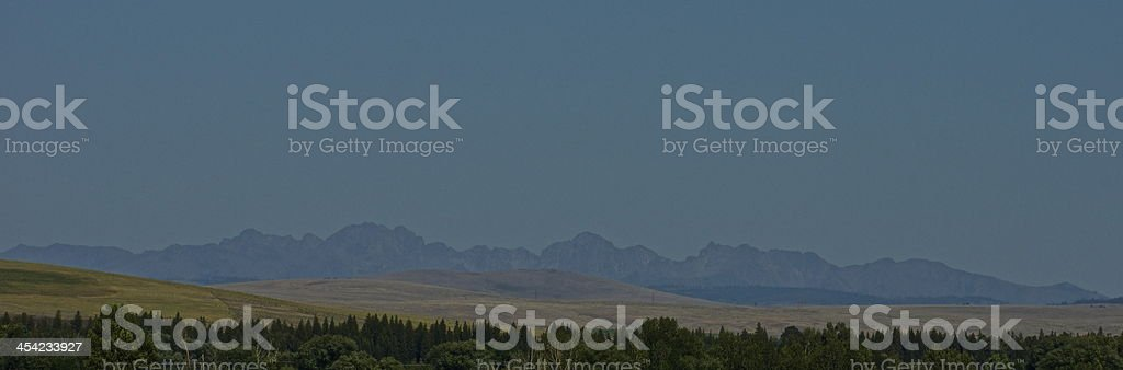 SE Washington's Blue Mountains stock photo