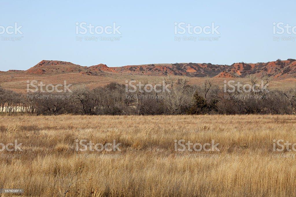 Washita Battlefield National Historic Site, Oklahoma royalty-free stock photo