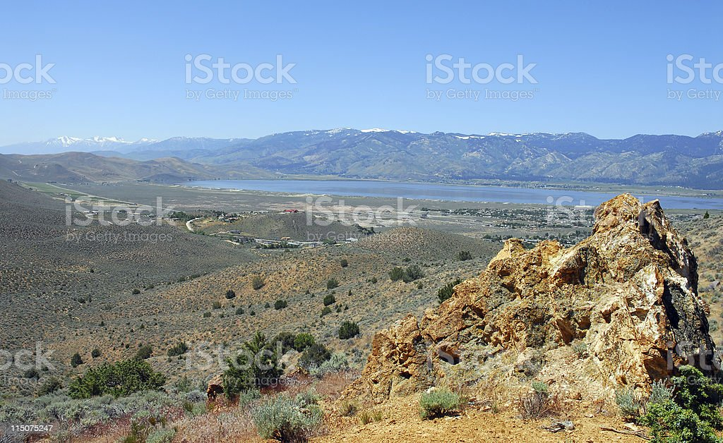Washoe Valley royalty-free stock photo