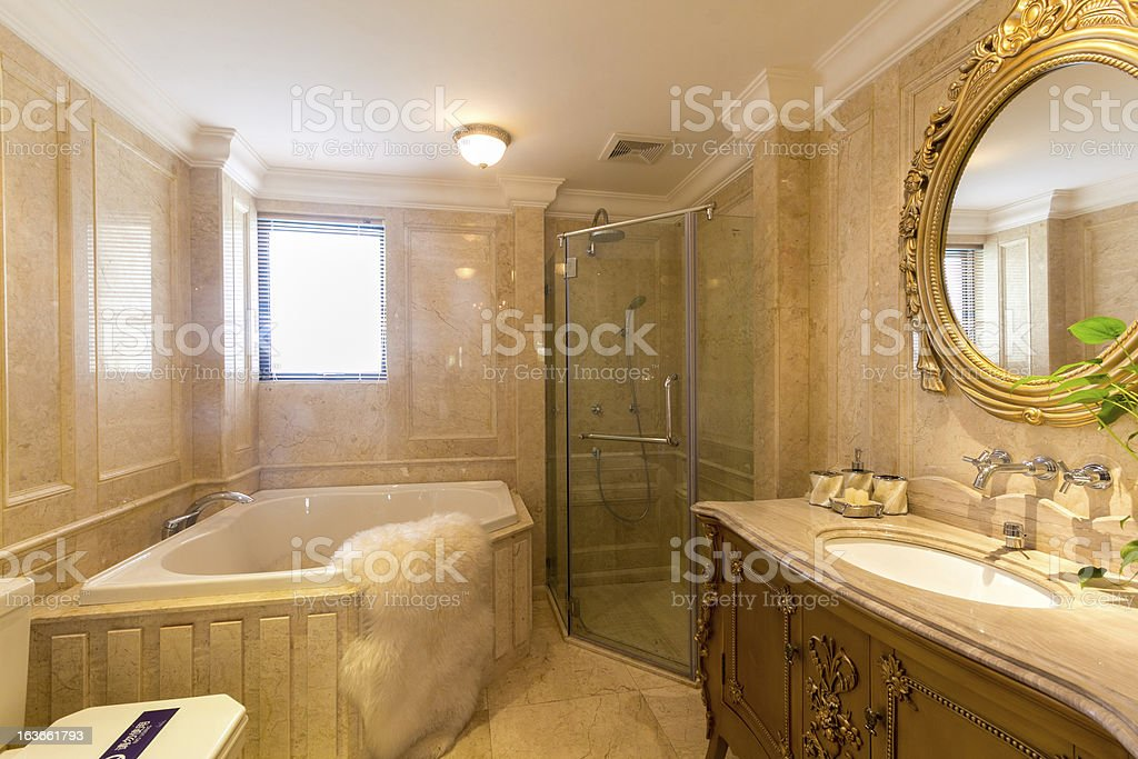 Washroom stock photo