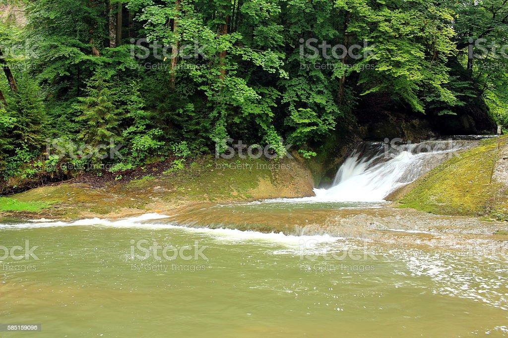 Wasser der Berge stock photo