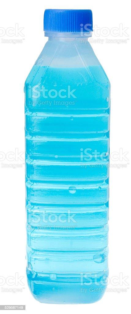 Wasser in einer PET-Flasche stock photo