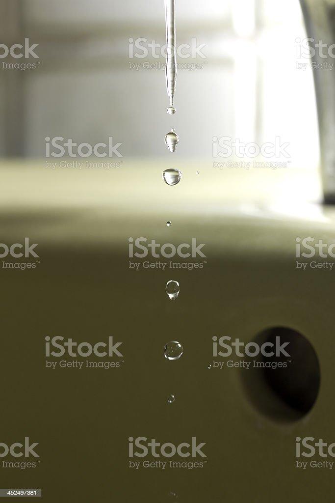 Wasser, Wassertropfen stock photo