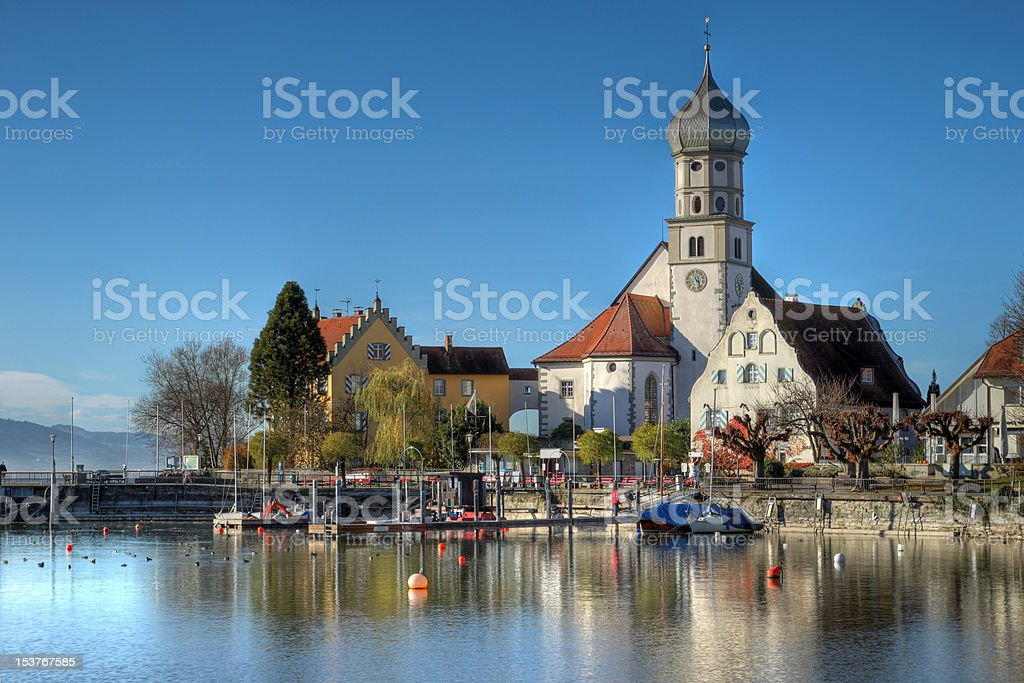 Wasserburg on Bodensee, Germany stock photo