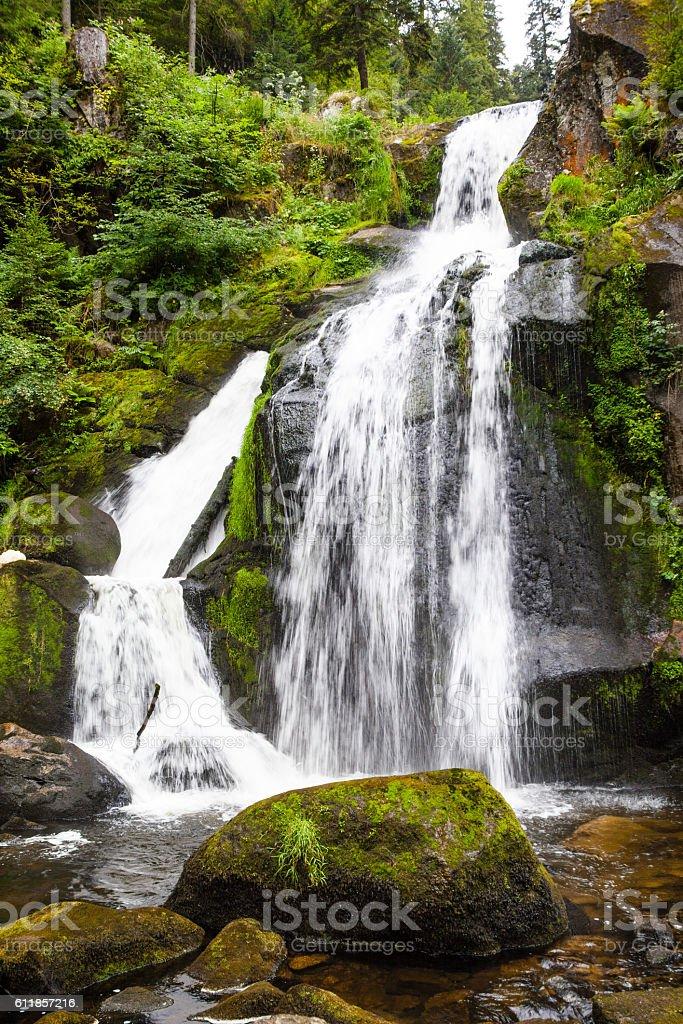 Wasserfall in Triberg stock photo