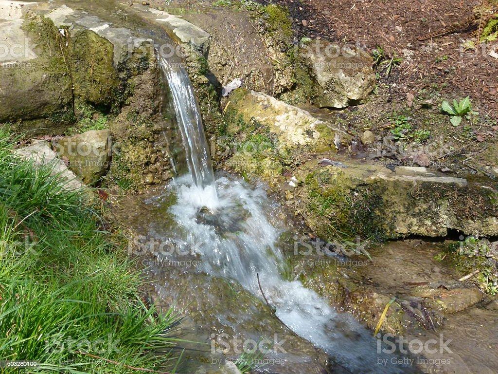 Wasserfall klein stock photo