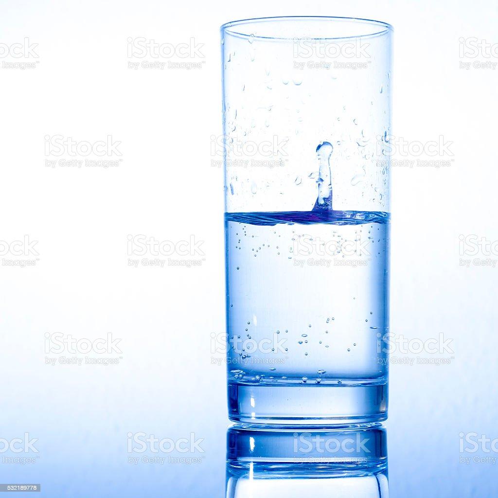 Wasserglas stock photo
