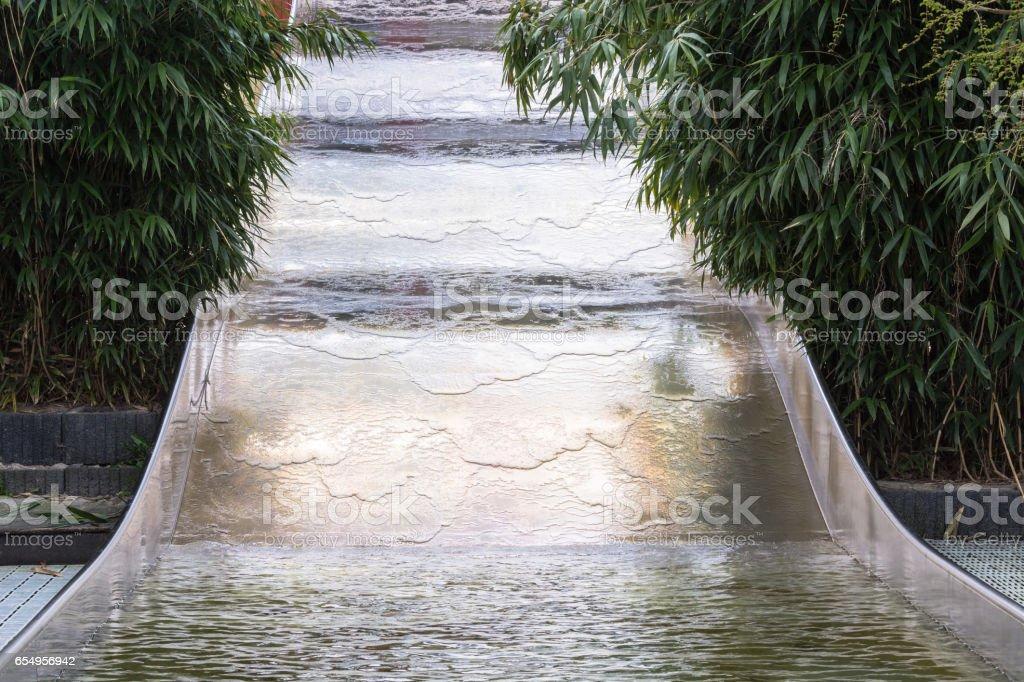 Wasserrutsche stock photo