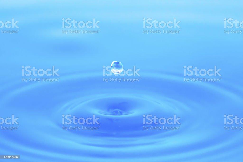 Wassertropfen 3 royalty-free stock photo