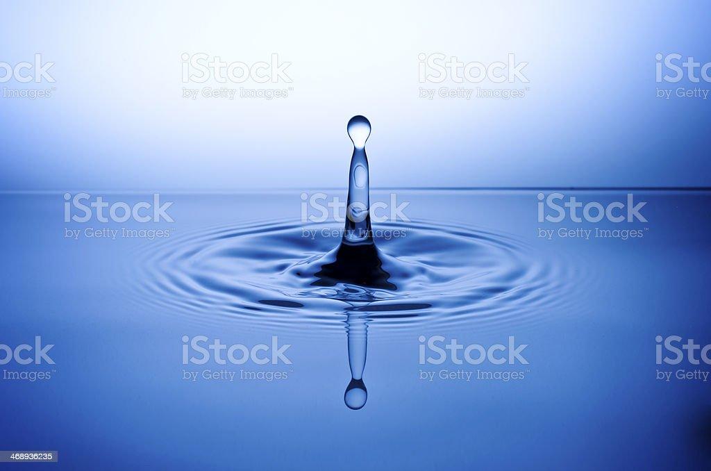 Wassertropfen, Tropfen, Water Drop stock photo