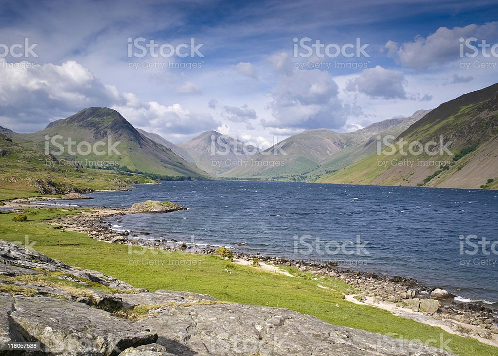 Wast Water, Lake District royalty-free stock photo