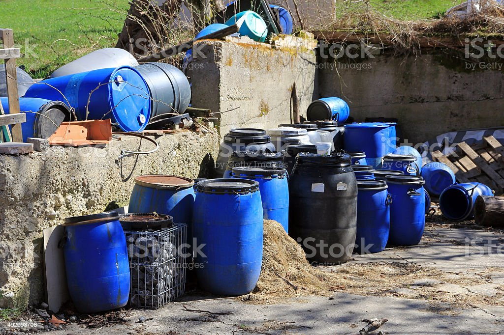 waste and trash stock photo