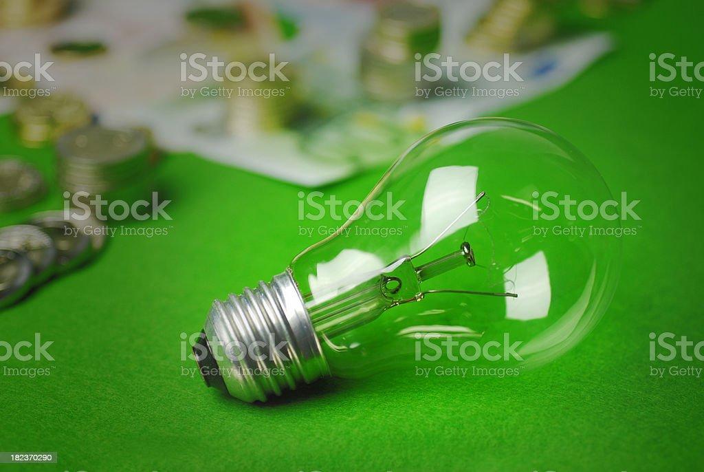 waste energy royalty-free stock photo