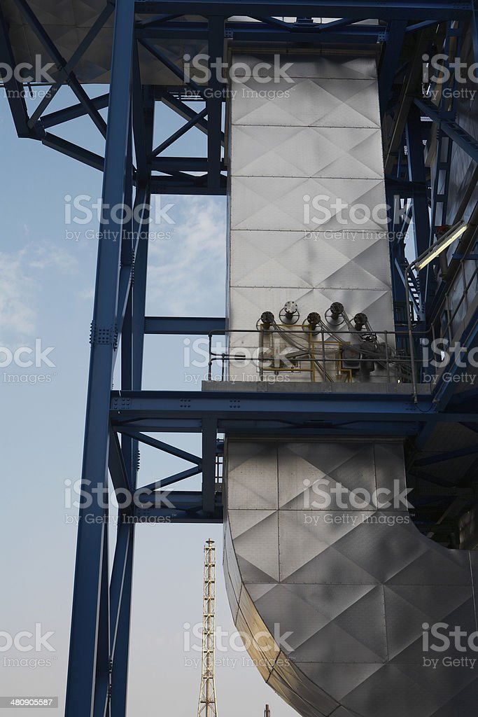 Waste Gases Outlet From Oil Industry stock photo