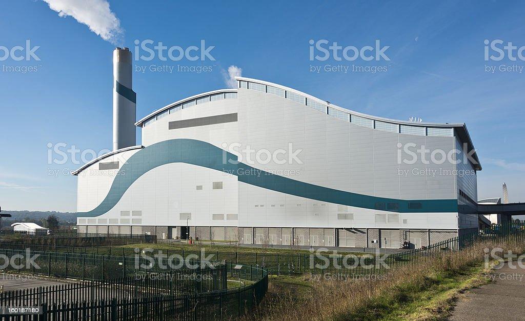Waste Incinerator stock photo
