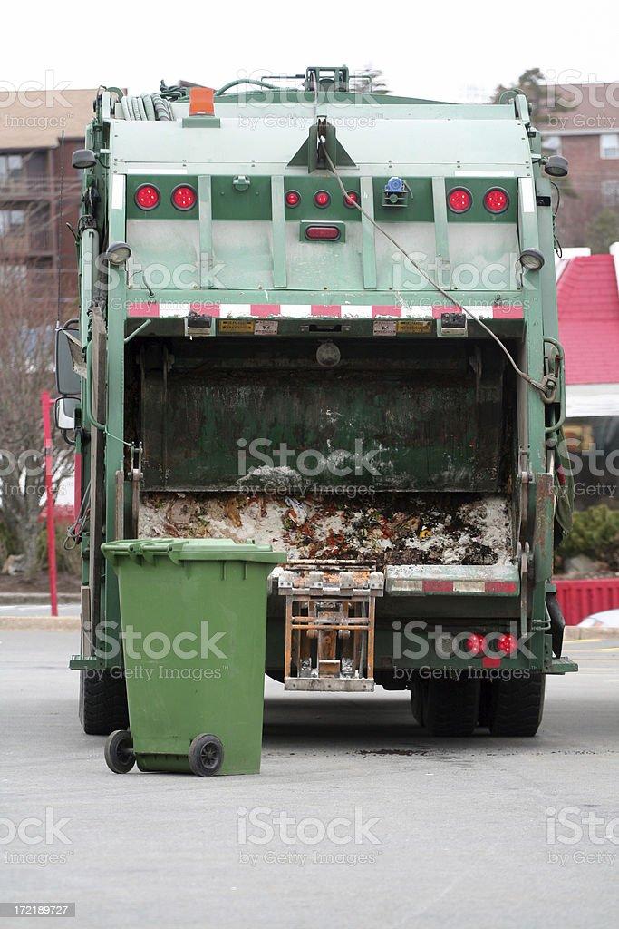 Waste Management - 2 royalty-free stock photo